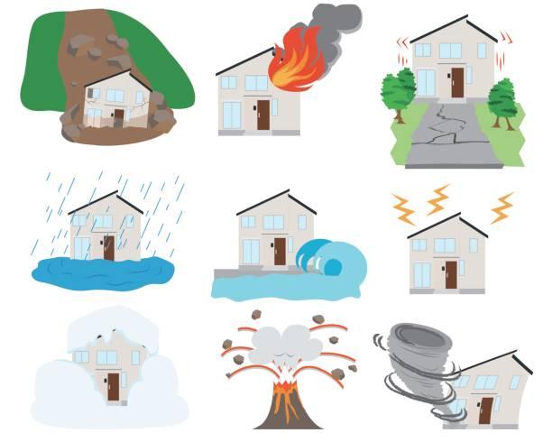 disaster vector art illustration