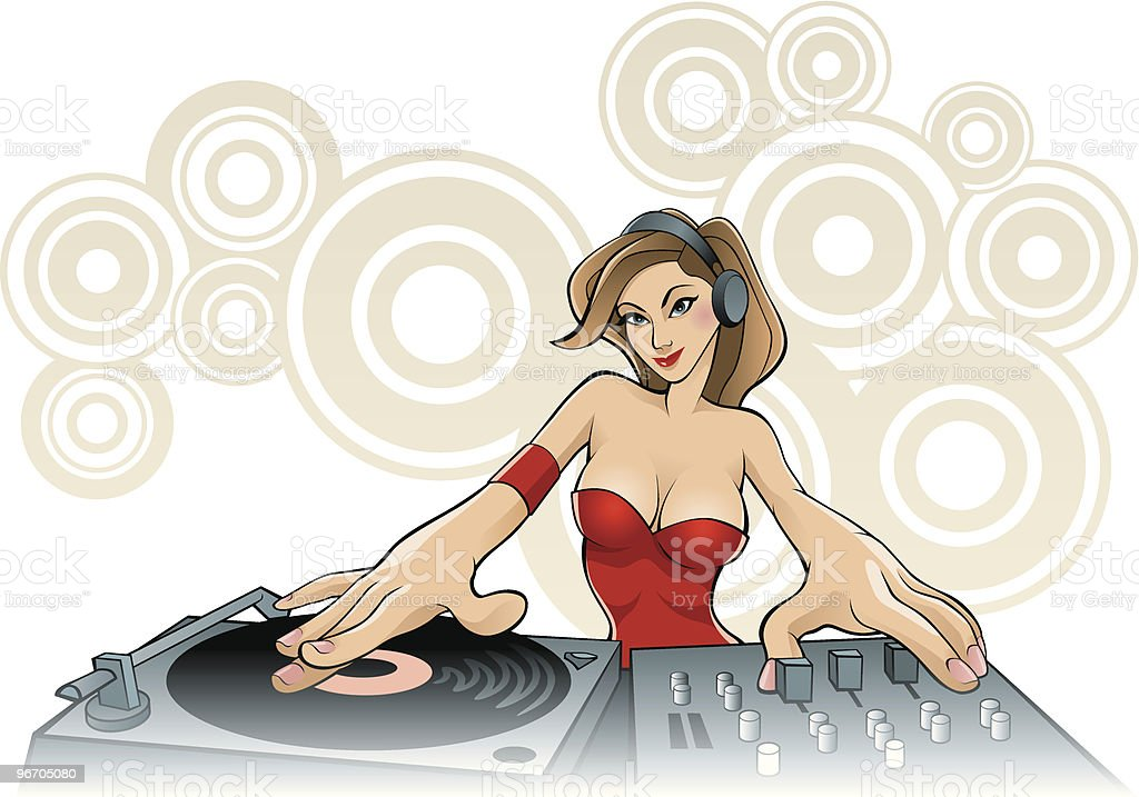 Disc Jockey royalty-free disc jockey stock vector art & more images of adult