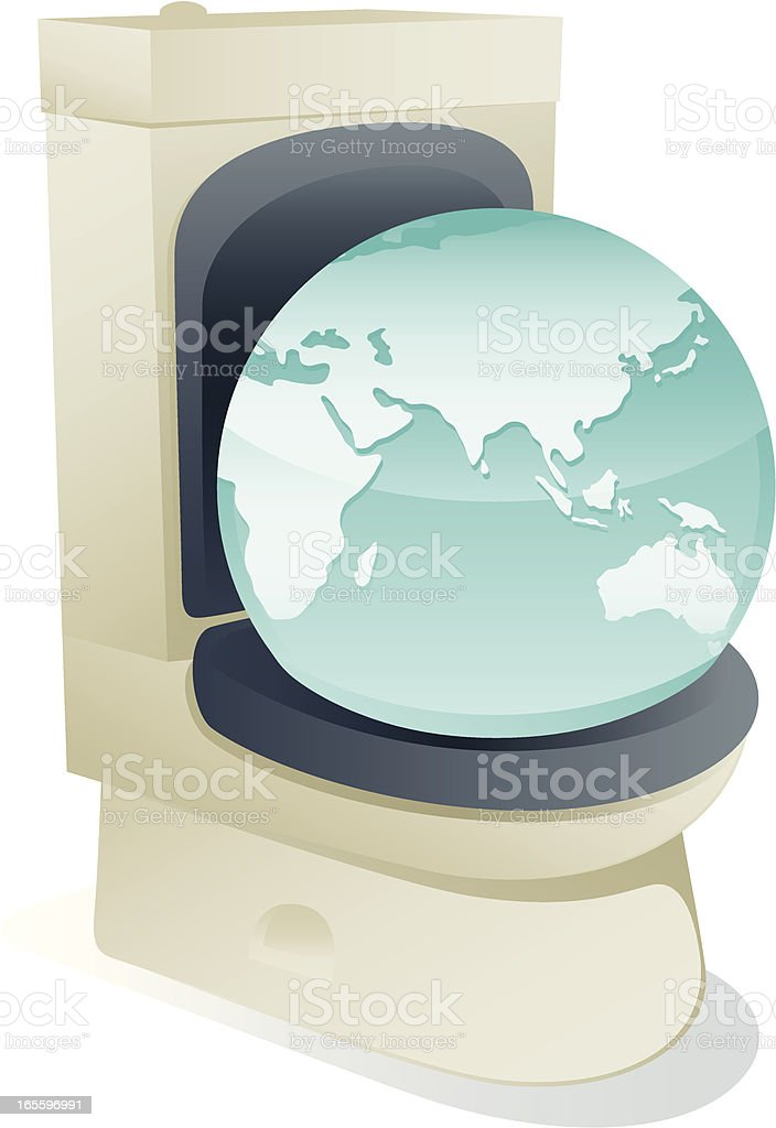 dischargeable globe royalty-free dischargeable globe stock vector art & more images of bathroom