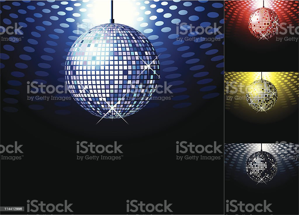 Disco ball royalty-free disco ball stock vector art & more images of backgrounds