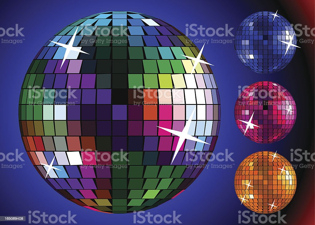 Disco Ball. royalty-free stock vector art