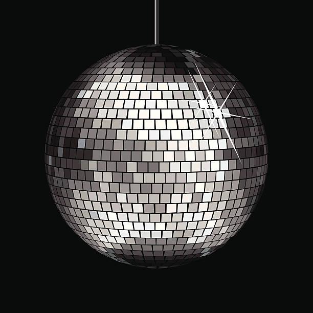 Disco Ball Disco Ball disco ball stock illustrations