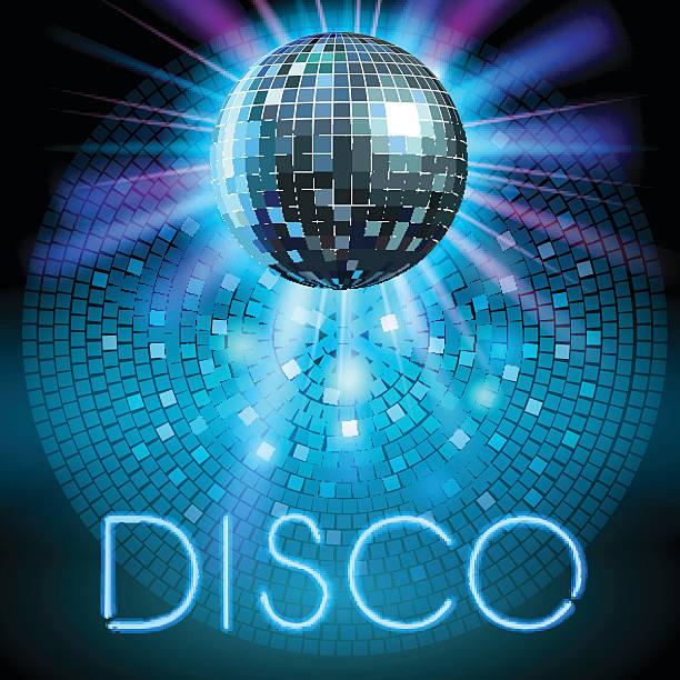 bildbanksillustrationer, clip art samt tecknat material och ikoner med disco ball - dansa disco