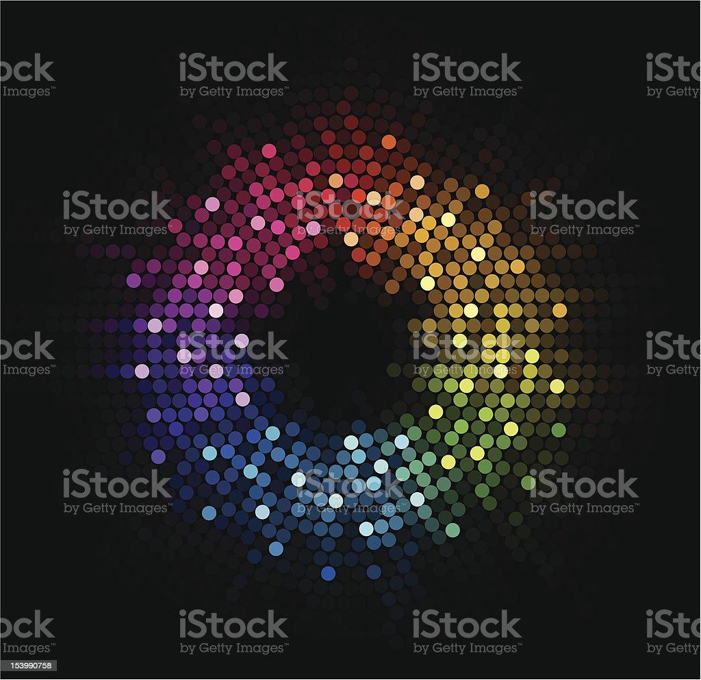 disco light royalty-free stock vector art