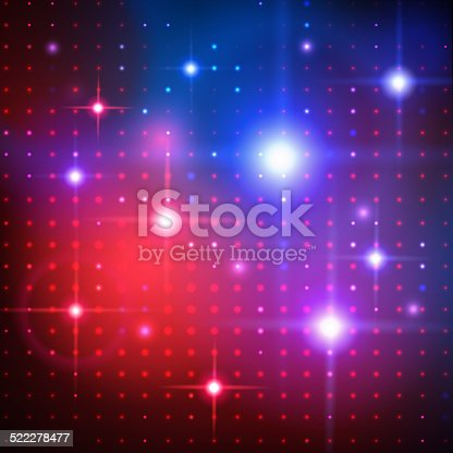 Disco lights. Vector background.