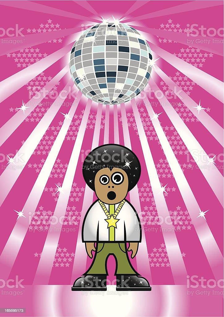 Hombre de discoteca ilustración de hombre de discoteca y más banco de imágenes de 1970-1979 libre de derechos