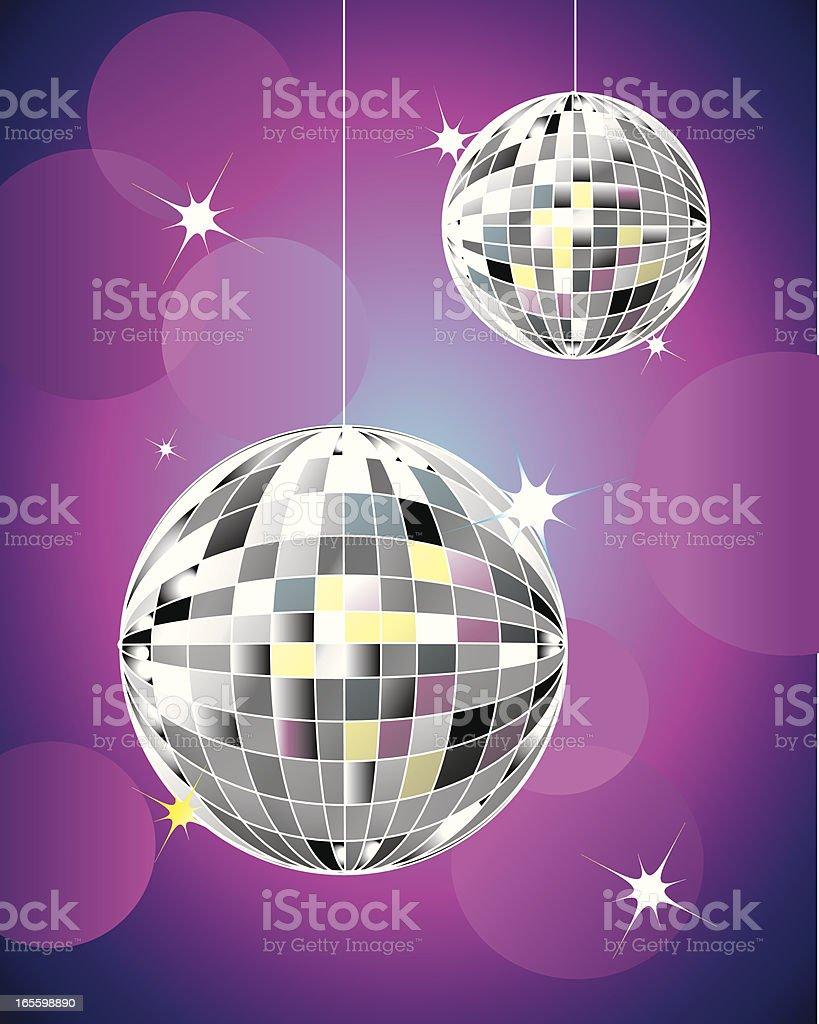 Discoteca refleja pelotas ilustración de discoteca refleja pelotas y más banco de imágenes de 1970-1979 libre de derechos