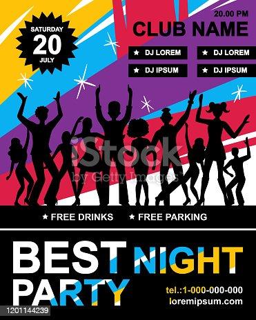 istock disco party poster 1201144239
