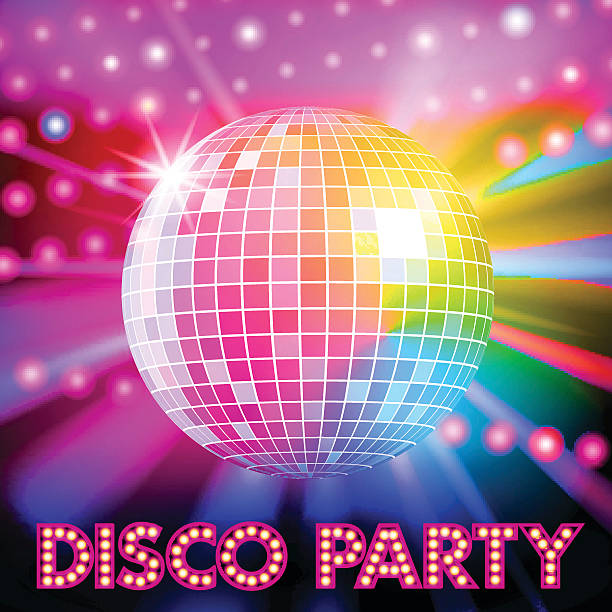 Best Disco Ball Illustrations Royalty Free Vector