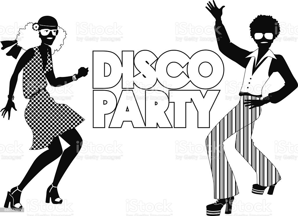 disco party stock vector art more images of 1970 1979 532747041 Disco Ball Invitations disco party royalty free disco party stock vector art more images of 1970