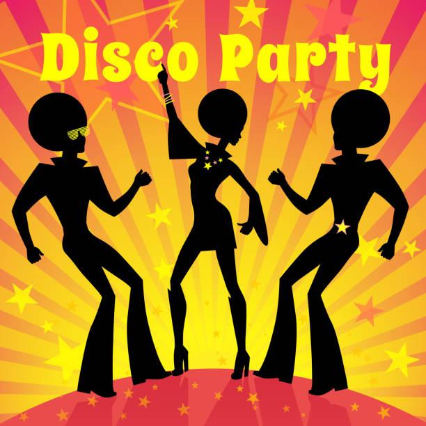 Disco party. Vector illustration. vector art illustration