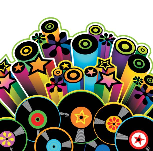 Disco  disco dancing stock illustrations