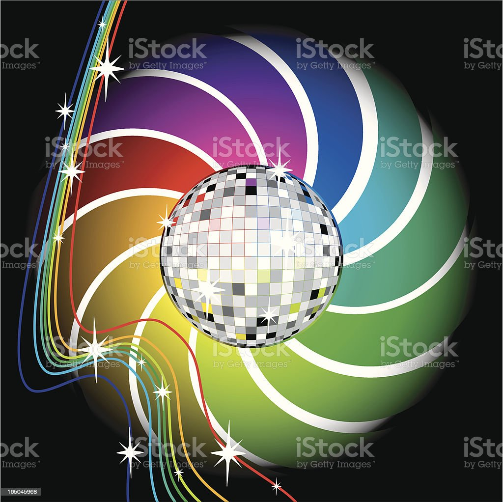 Disco royalty-free stock vector art