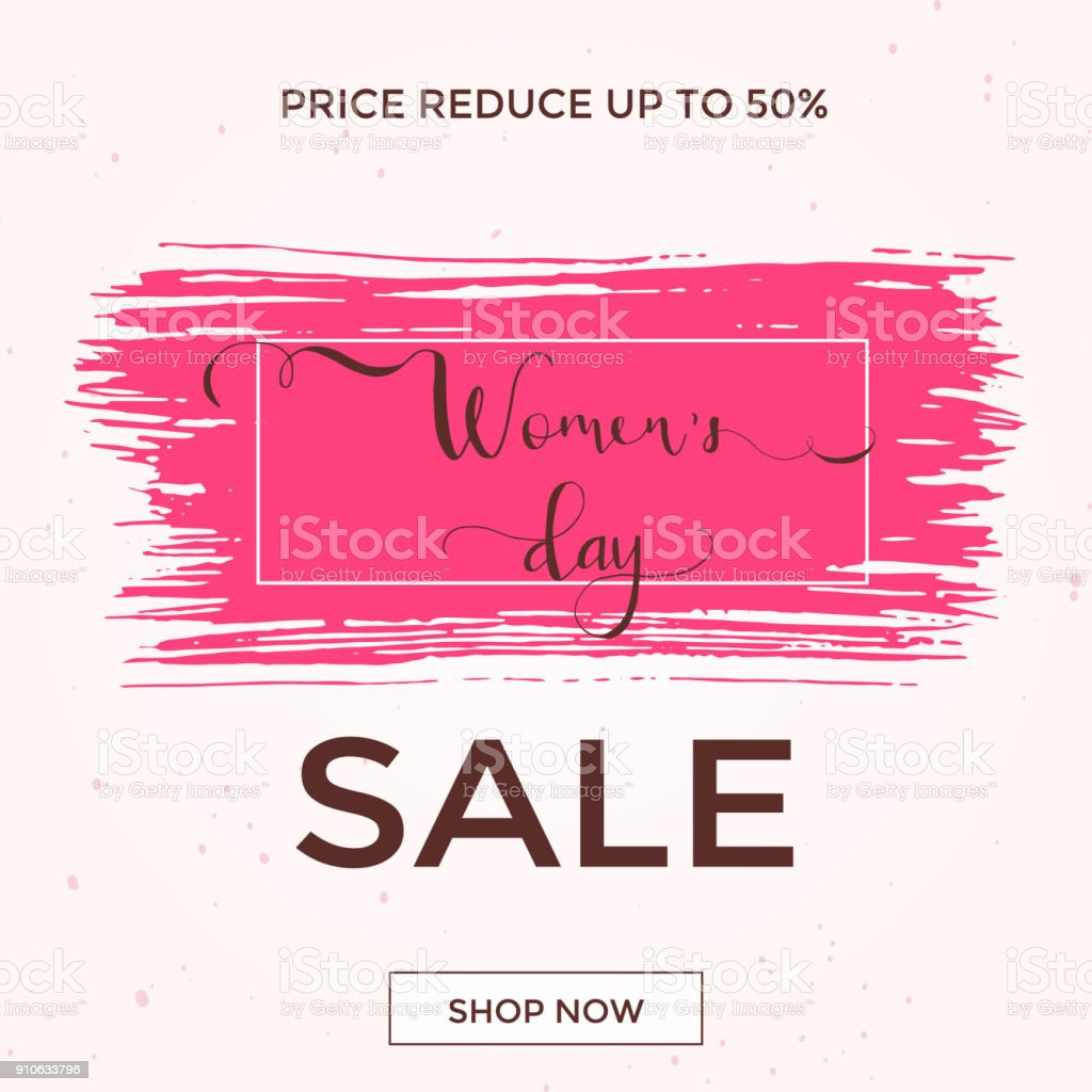 Discount Greeting Card Design International Happy Womens Day 8 March