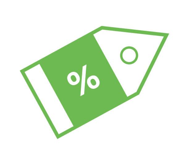 03408ff7b4 Tiendas Para Comprar Online - Vectores y Gráficos. icono de descuento -  ilustración ...