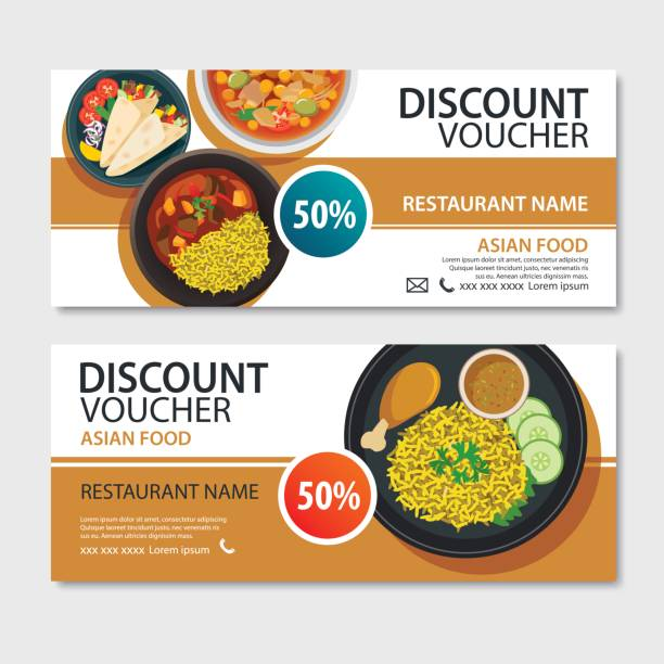 Royalty Free Meal Voucher Clip Art, Vector Images ...