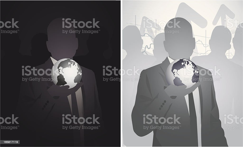 Discover the Global Business royalty-free stock vector art
