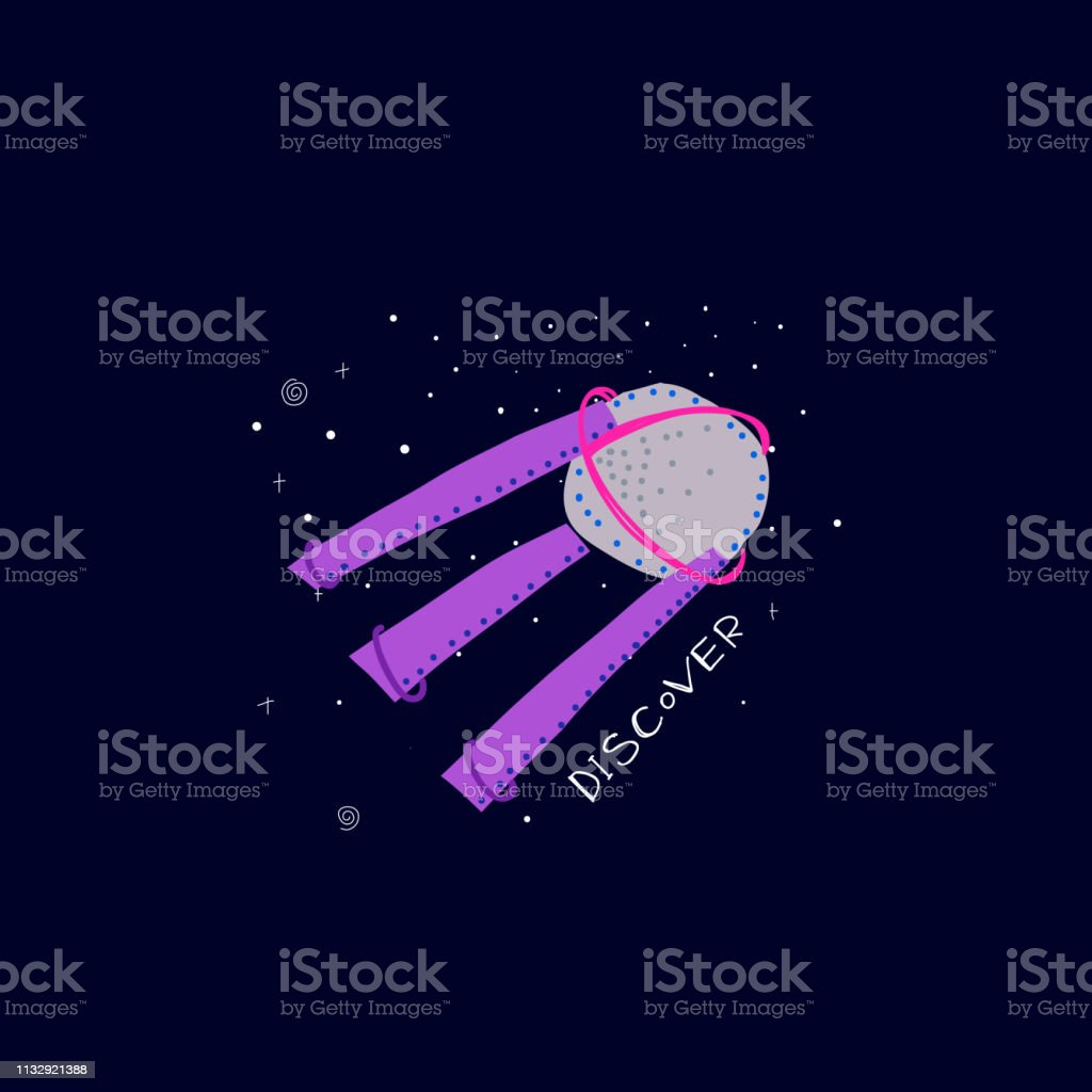 Discover Universe Space satellite travel Planet Star moon astronaut...