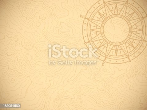 istock Discovery Topographic Map Background 185054560