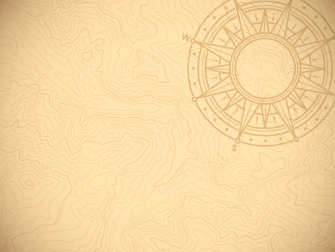 Discovery Topographic Map Background