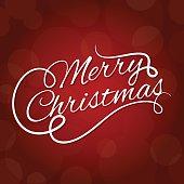 Diseño de letras para tarjeta de feliz navidad