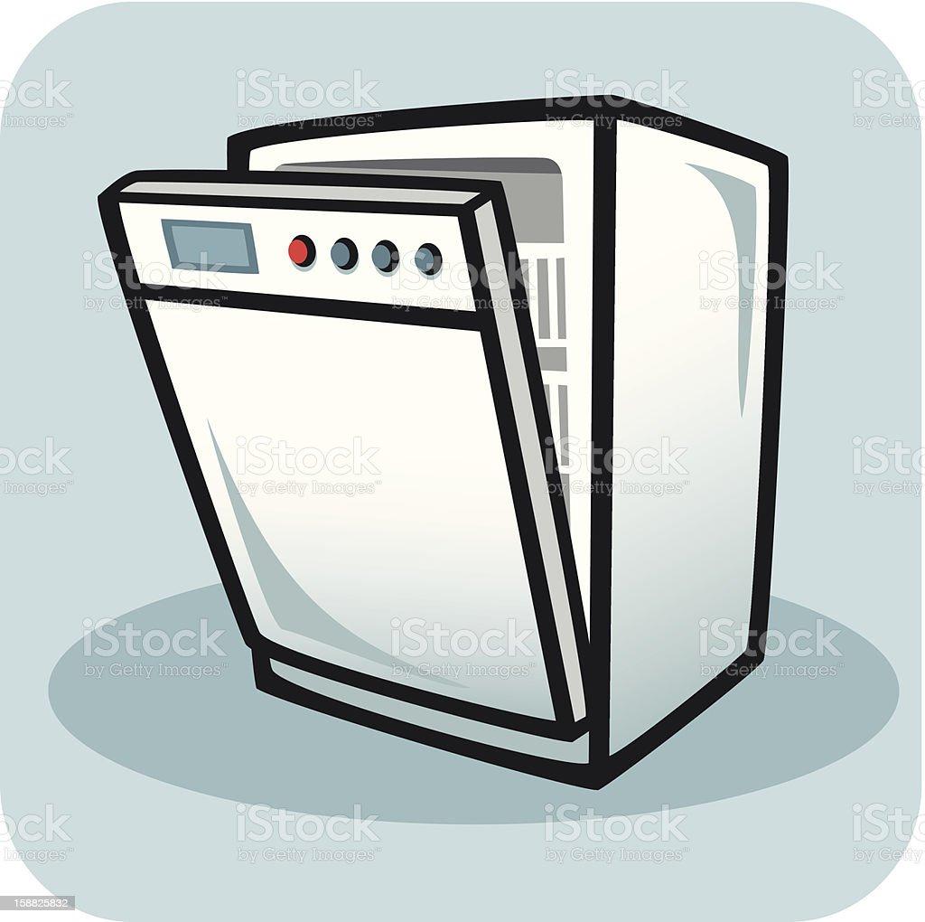 Dishwasher Clip Art ~ Dishwasher stock vector art more images of appliance