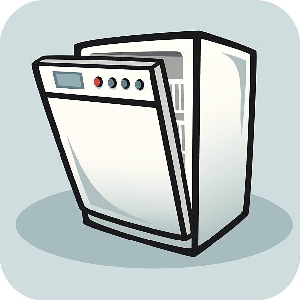 Dishwasher Clip Art ~ Royalty free dishwasher clip art vector images