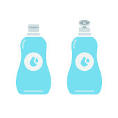 istock Disinfection Icon Flat Design. 1272548833