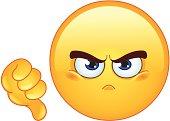 Dislike emoticon