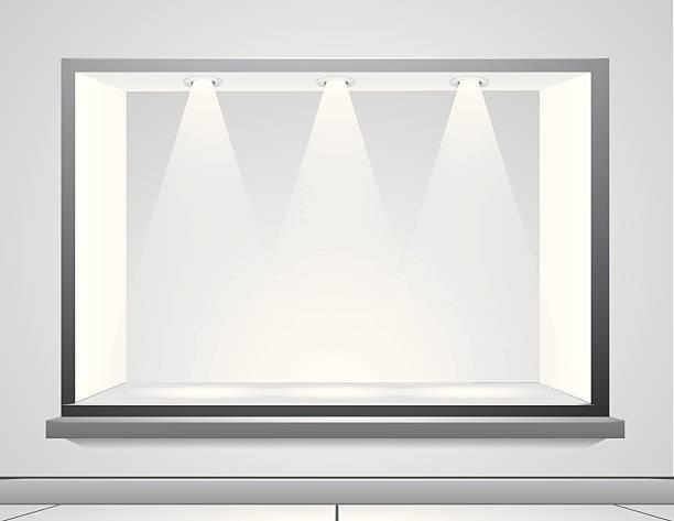 sichtfenster - lampenshop stock-grafiken, -clipart, -cartoons und -symbole