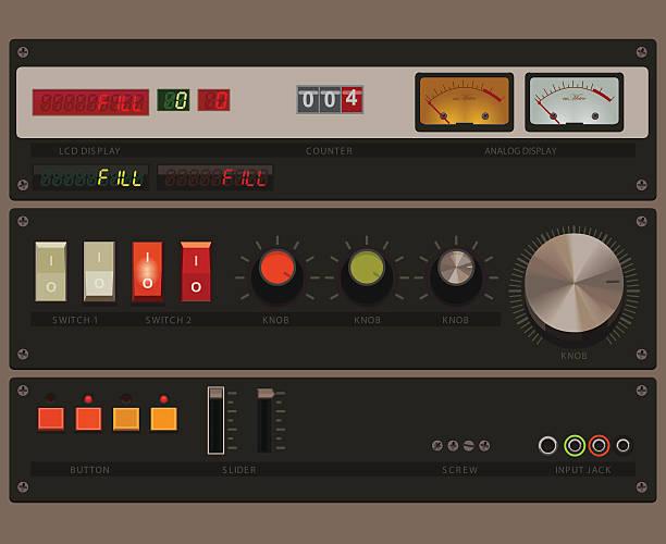 displays and controls - 控制板 幅插畫檔、美工圖案、卡通及圖標