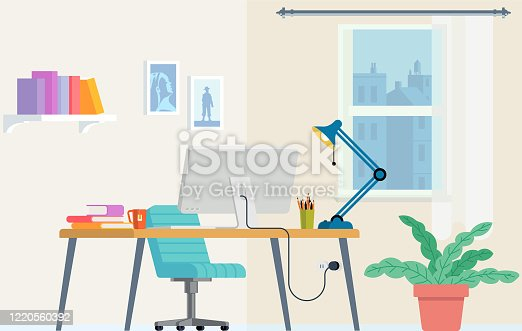 Distance Learning Home office