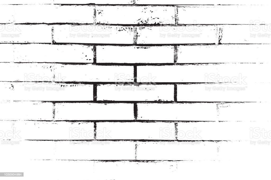 Superposition de détresse Brickwall - Illustration vectorielle