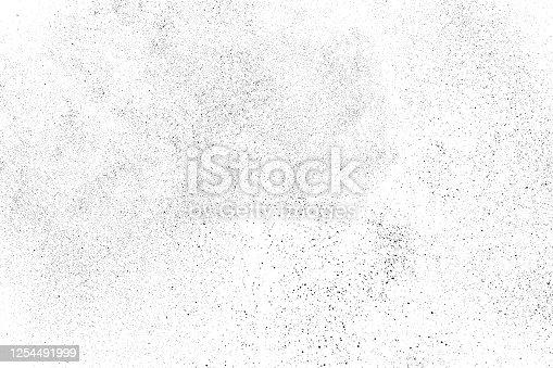istock Distressed black texture. 1254491999
