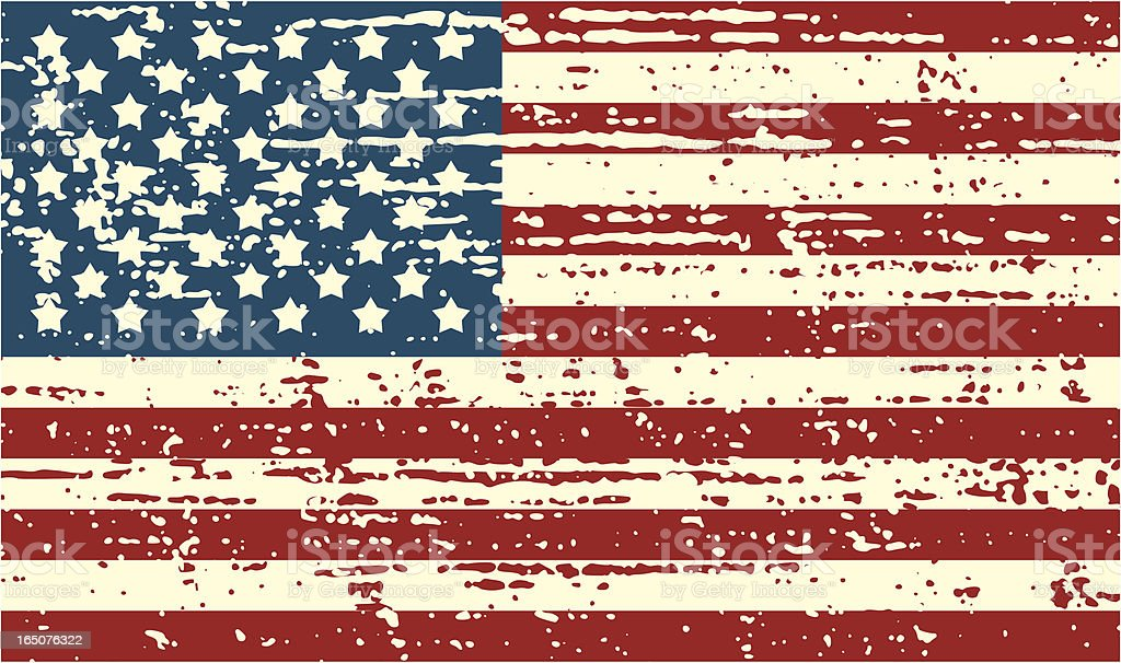 Top Distressed Us Flag Stock Vector Art & More Images of American Flag  RO31