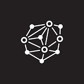 Distributed Network Icon.