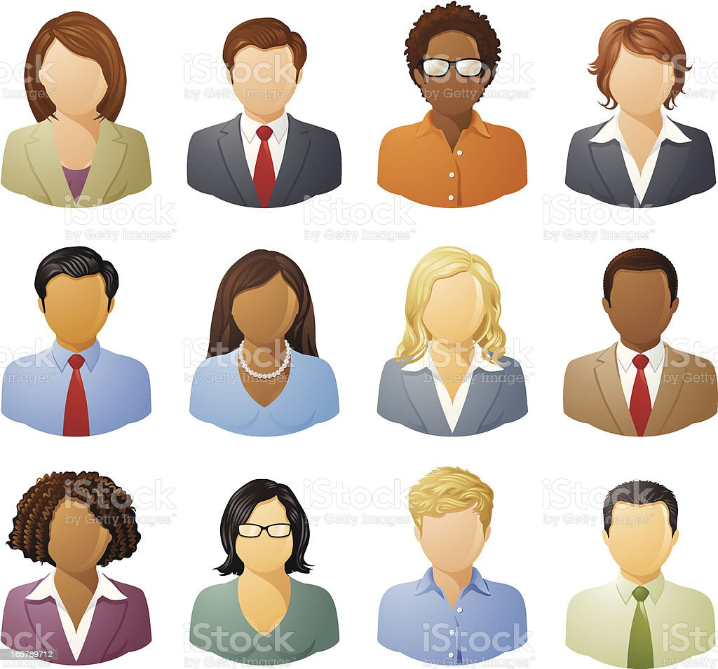 Diverse Business People royalty-free diverse business people stock vector art & more images of african ethnicity