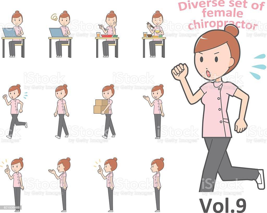 Diverse set of business woman , EPS10 vector format vol.9 diverse set of business woman eps10 vector format vol9 - immagini vettoriali stock e altre immagini di adulto royalty-free
