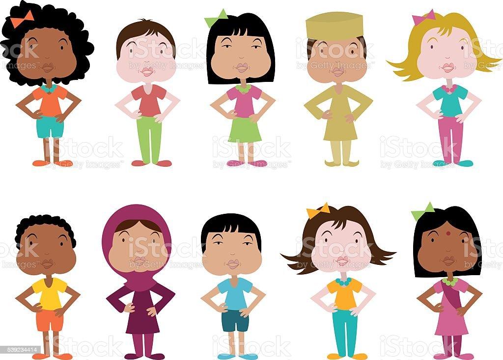 Diversidad y la tolerancia en el mundo ilustración de diversidad y la tolerancia en el mundo y más banco de imágenes de adolescente libre de derechos