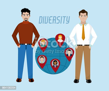 istock Diversity around the world 954130204