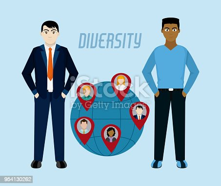 667207410 istock photo Diversity around the world 954130262
