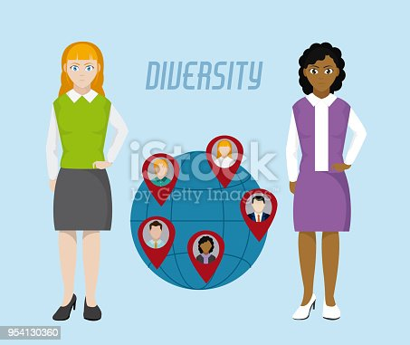 667207410 istock photo Diversity around the world 954130360