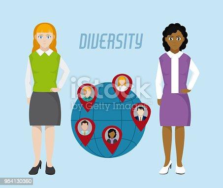 istock Diversity around the world 954130360