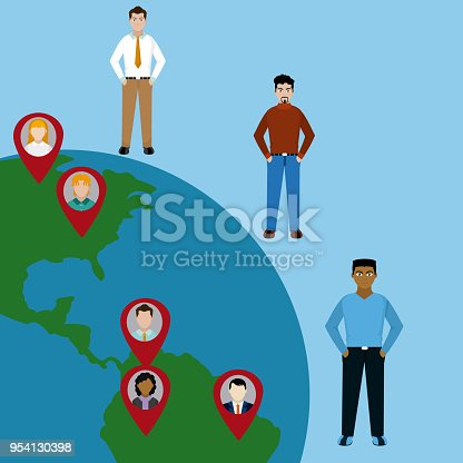 667207410 istock photo Diversity around the world 954130398