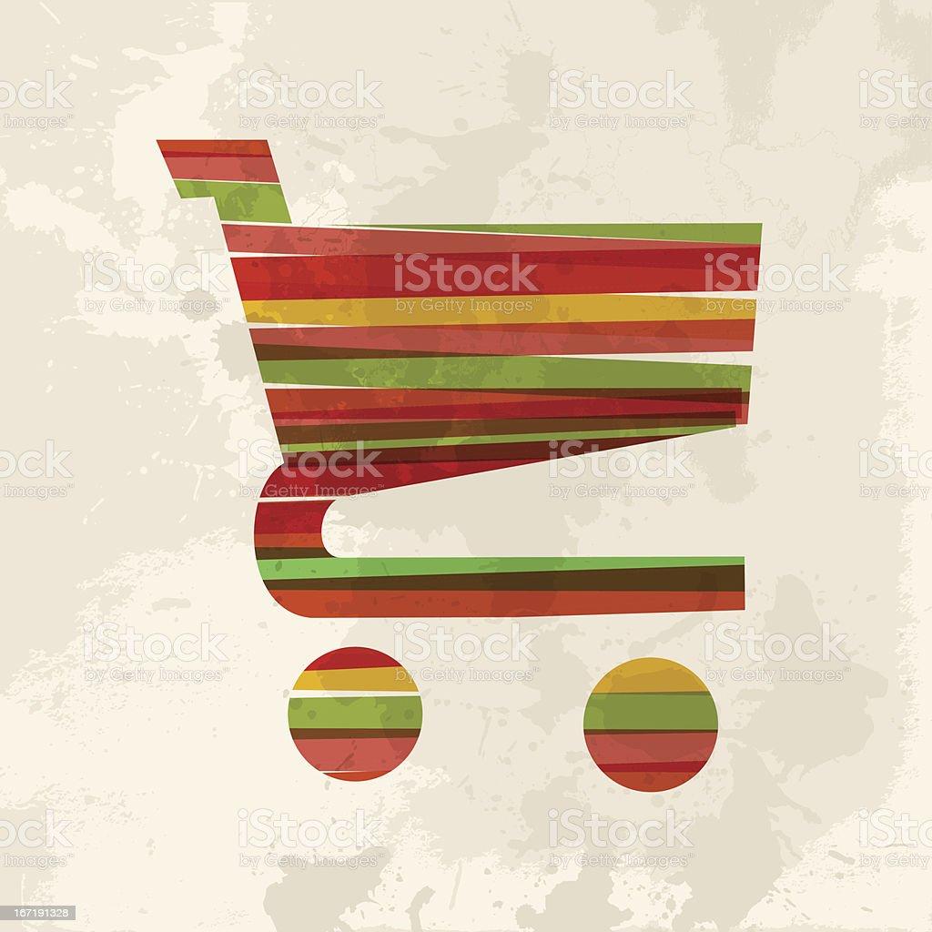 Diversity online shopping royalty-free stock vector art