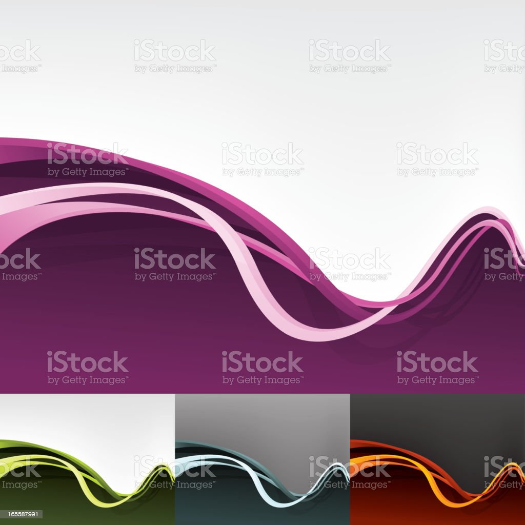 3D Divider Background royalty-free stock vector art
