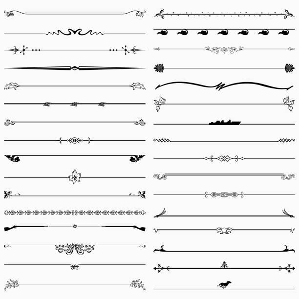 ilustrações de stock, clip art, desenhos animados e ícones de dividers - compasso