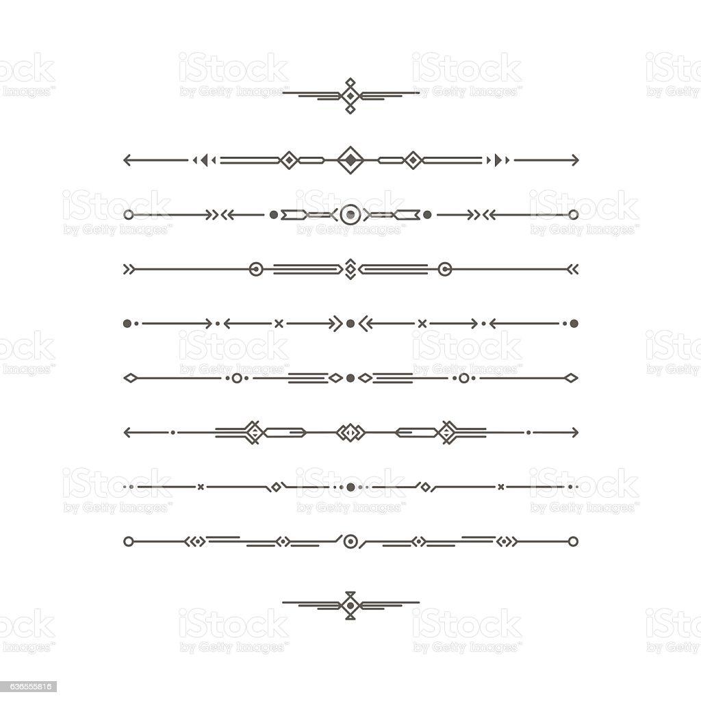 divider set vector - photo #12