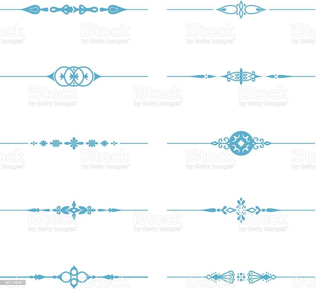 7756ee493fc3 Línea de separación ilustración de línea de separación y más vectores  libres de derechos de adorno