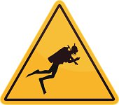 diving sign